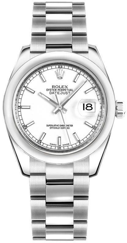 repliche Orologio Rolex Datejust 31 quadrante bianco 178240