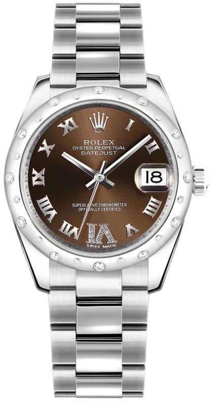 repliche Orologio Rolex Datejust 31 quadrante in bronzo 178344