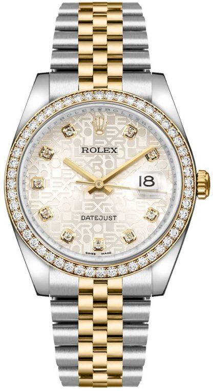 repliche Orologio Rolex Datejust 36 Oystersteel & Gold Jubilee Bracelet 116243