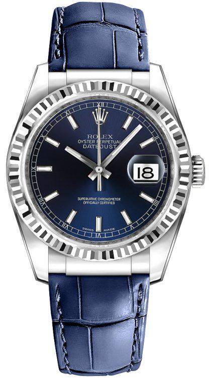 repliche Orologio Rolex Datejust 36 blu 116139