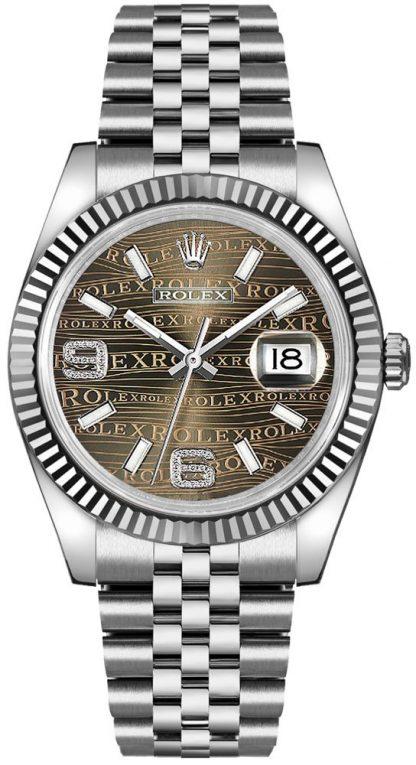 repliche Orologio Rolex Datejust 36 con quadrante in bronzo 116234