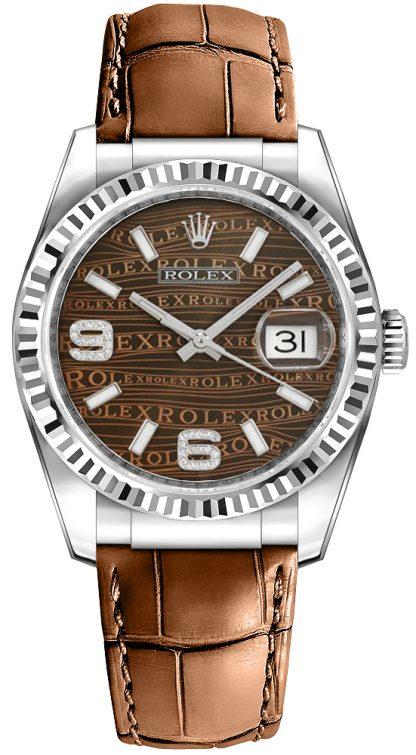 repliche Orologio Rolex Datejust 36 quadrante bronzo 116139