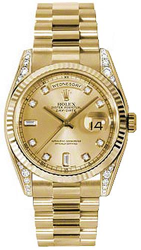 repliche Orologio Rolex Day-Date 36 oro 118338