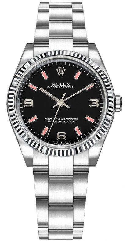 repliche Orologio Rolex Oyster Perpetual 31 in acciaio inossidabile 177234