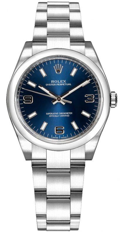 repliche Orologio Rolex Oyster Perpetual 31 quadrante blu 177200