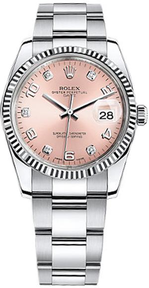 repliche Orologio Rolex Oyster Perpetual Date 34 Diamond 115234