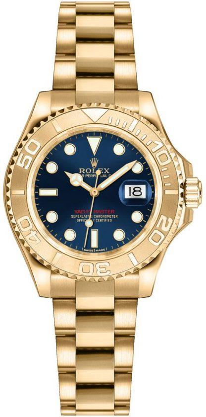 repliche Orologio Rolex Yacht-Master 29 in oro massiccio 169628