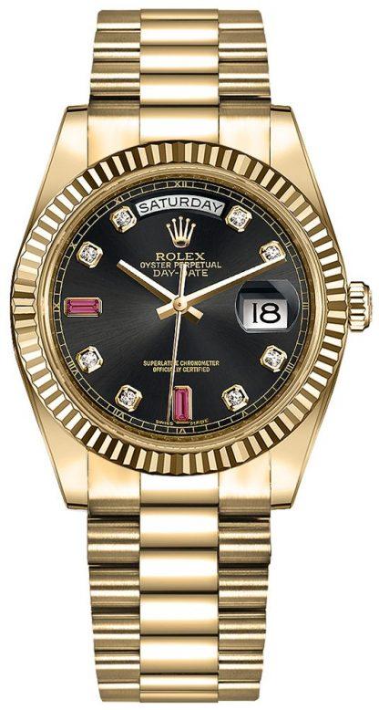 repliche Orologio automatico Rolex Day-Date 36 oro 118238