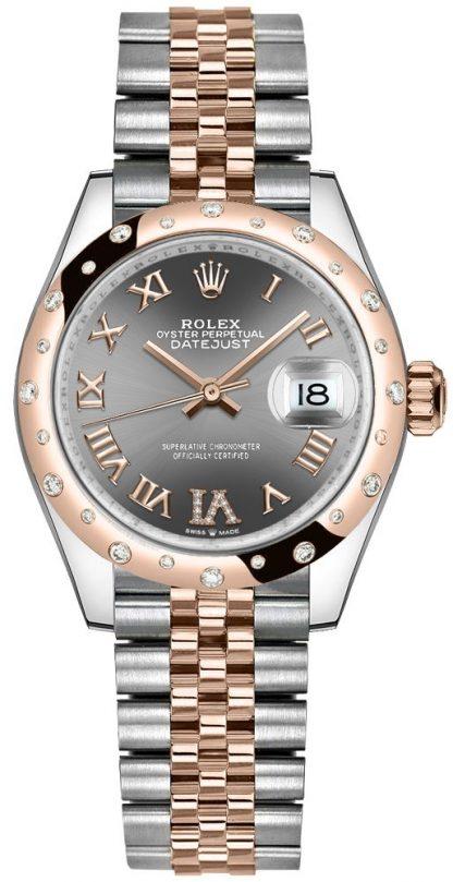 repliche Orologio da donna Rolex Datejust 31 quadrante rodiato 278341RBR