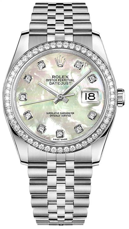 repliche Orologio da donna Rolex Datejust 36 Diamond 116244