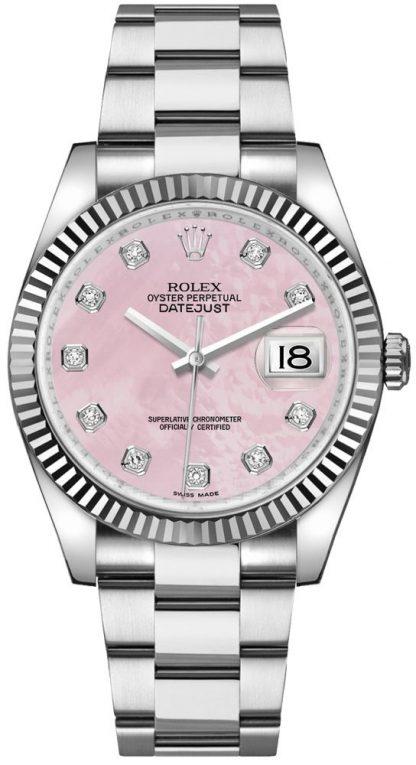 repliche Orologio da donna Rolex Datejust 36 con diamante rosa 116234