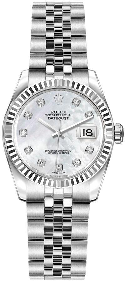 repliche Orologio da donna Rolex Lady-Datejust 26 Mop 179174