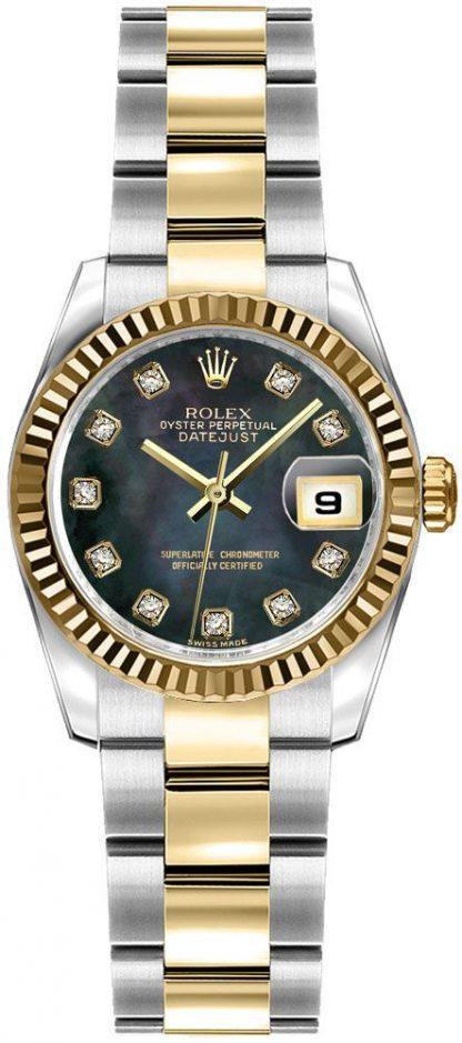 repliche Orologio da donna Rolex Lady-Datejust 26 Oyster