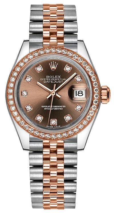 repliche Orologio da donna Rolex Lady-Datejust 28 279381RBR