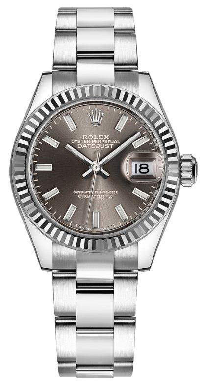 repliche Orologio da donna Rolex Lady-Datejust 28 Oyster Bracelet 279174