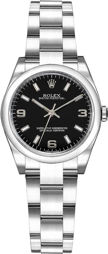 repliche Orologio da donna Rolex Oyster Perpetual 26 in acciaio 176200