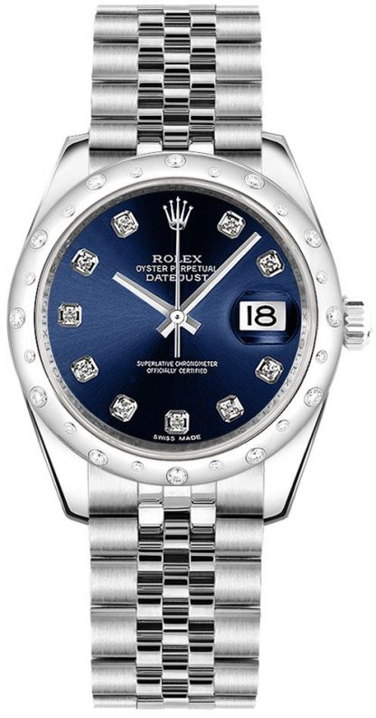 repliche Orologio da polso Rolex Datejust 31 Blue Diamond Jubilee 178344