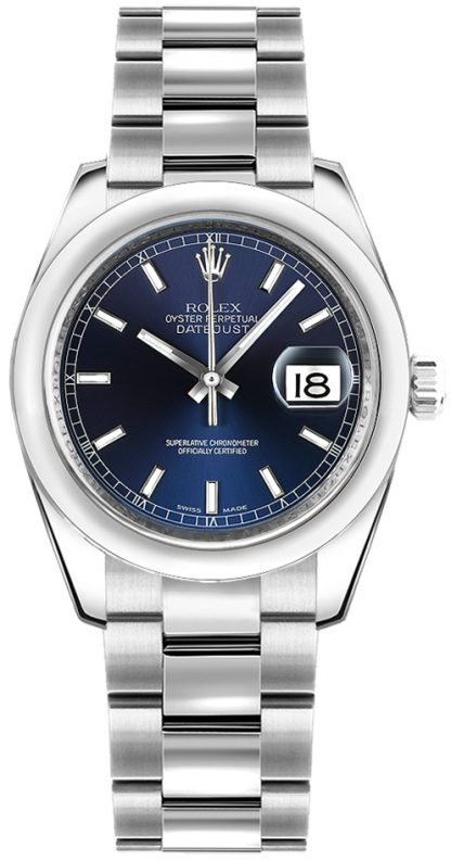 repliche Orologio da polso Rolex Datejust 31 quadrante blu Oyster 178240