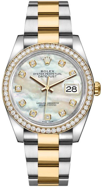 repliche Orologio da polso Rolex Datejust 36 Madreperla Oyster 116243