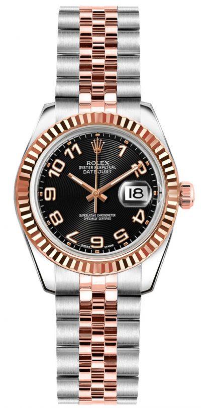 repliche Orologio da polso Rolex Lady-Datejust 26 Jubilee 179171