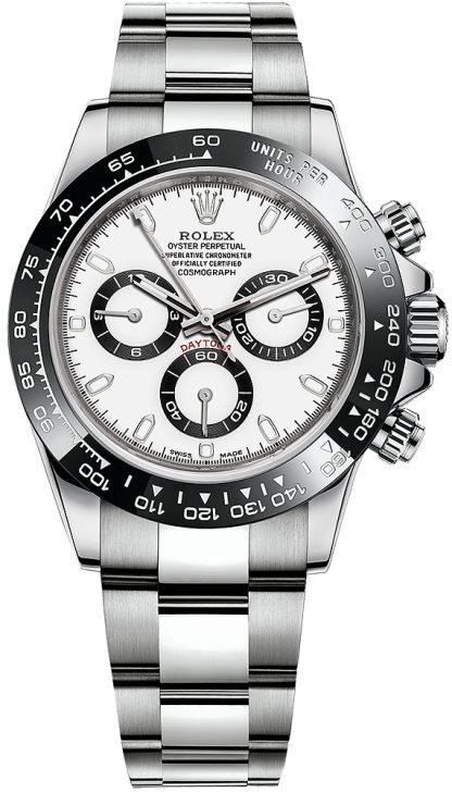 repliche Orologio da uomo Rolex Cosmograph Daytona Panda 116500LN