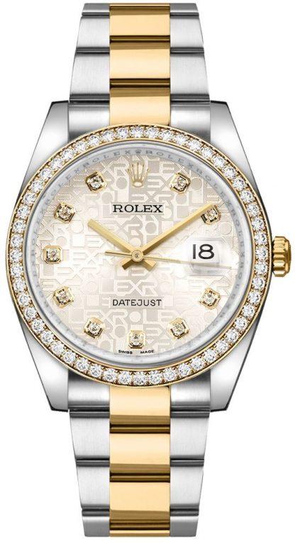 repliche Orologio da uomo Rolex Datejust 36 Diamond 116243