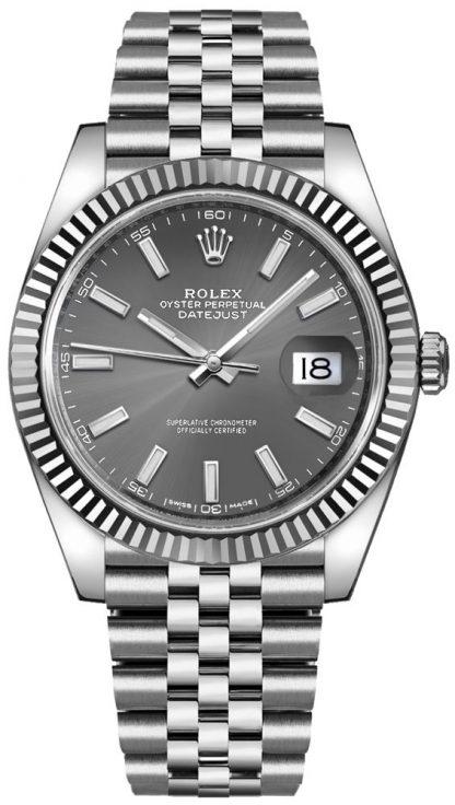 repliche Orologio da uomo Rolex Datejust 41 Luxury 126334