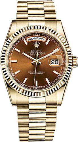repliche Orologio da uomo Rolex Day-Date 36 Luxury 118238