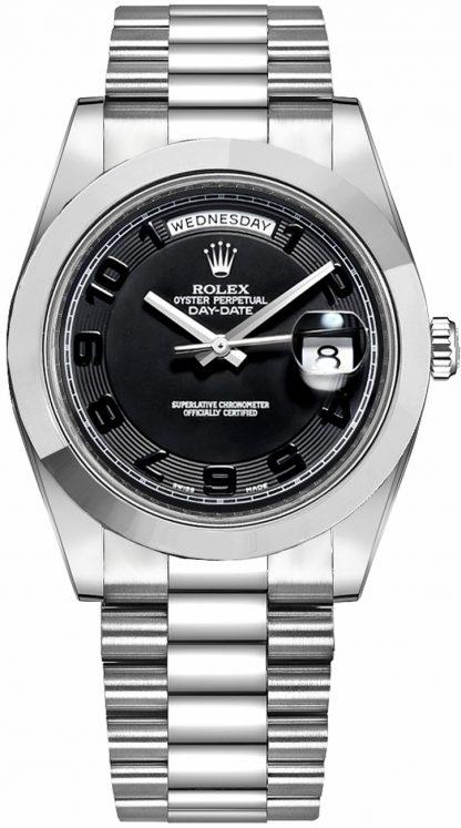 repliche Orologio da uomo Rolex Day-Date 41 Platinum 218206