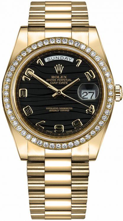 repliche Orologio da uomo Rolex Day-Date 41 in oro massiccio 218348