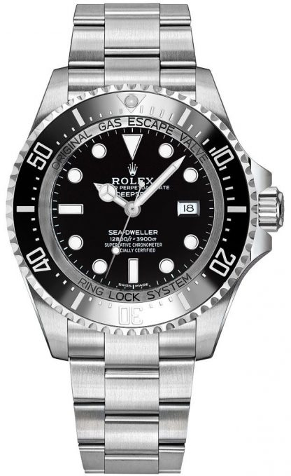 repliche Orologio da uomo Rolex Deepsea quadrante nero 116660