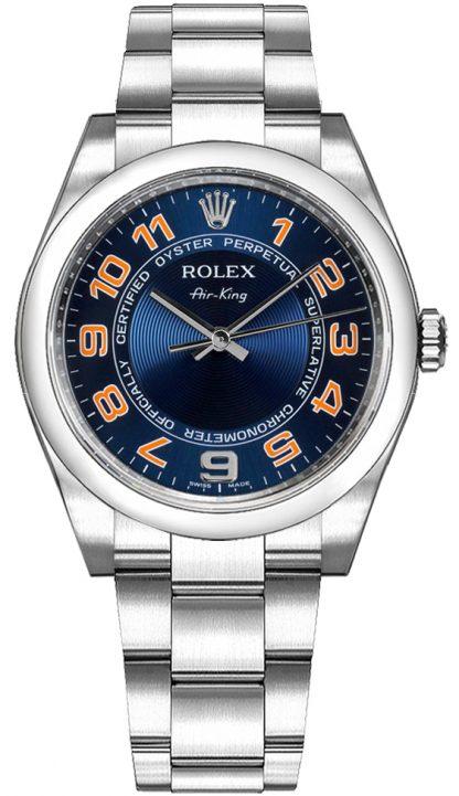 repliche Orologio da uomo Rolex Oyster Perpetual Air-King 114200