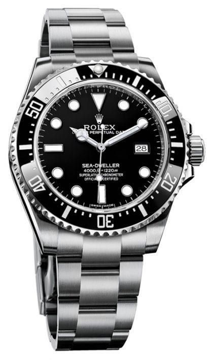 repliche Orologio da uomo Rolex Sea-Dweller 4000 quadrante nero 116600