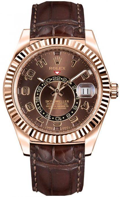 repliche Orologio da uomo Rolex Sky-Dweller 326135