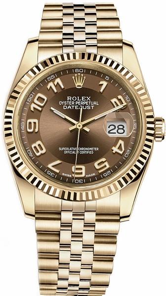 repliche Orologio di lusso Rolex Datejust 36 116238