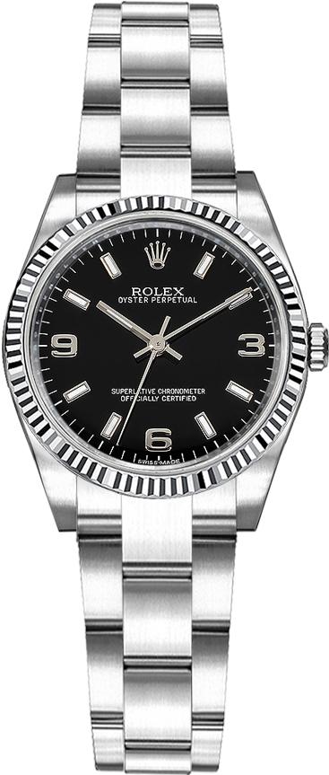 repliche Orologio svizzero automatico da donna Rolex Oyster Perpetual 26 176234