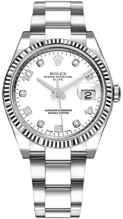 repliche Rolex Oyster Perpetual Date 34 115234